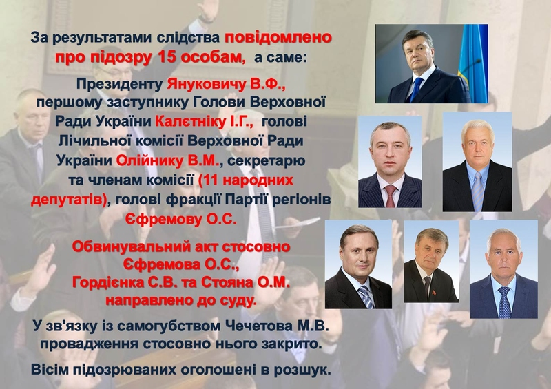 """ГПУ наочно показали, як Янукович """"зачищав"""" Майдан (ІНФОГРАФІКА) - фото 15"""