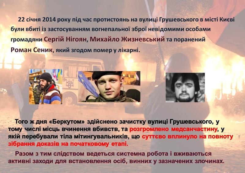 """ГПУ наочно показали, як Янукович """"зачищав"""" Майдан (ІНФОГРАФІКА) - фото 17"""