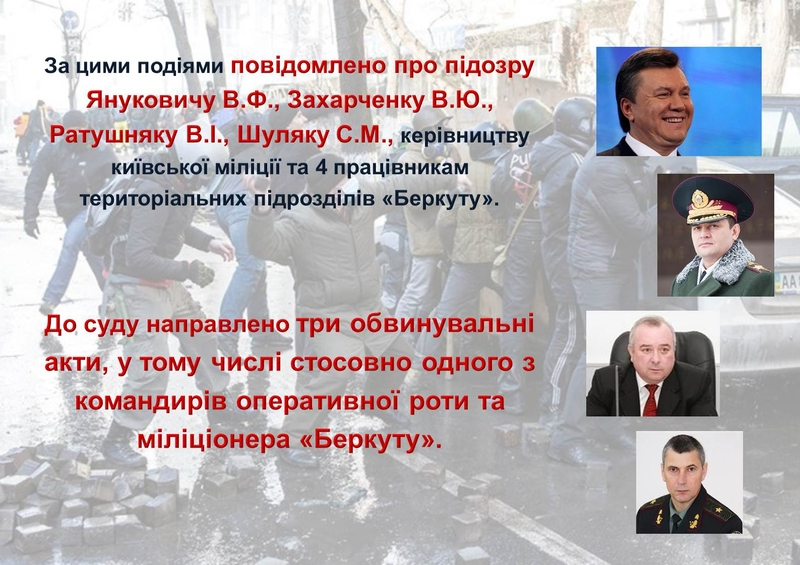 """ГПУ наочно показали, як Янукович """"зачищав"""" Майдан (ІНФОГРАФІКА) - фото 27"""