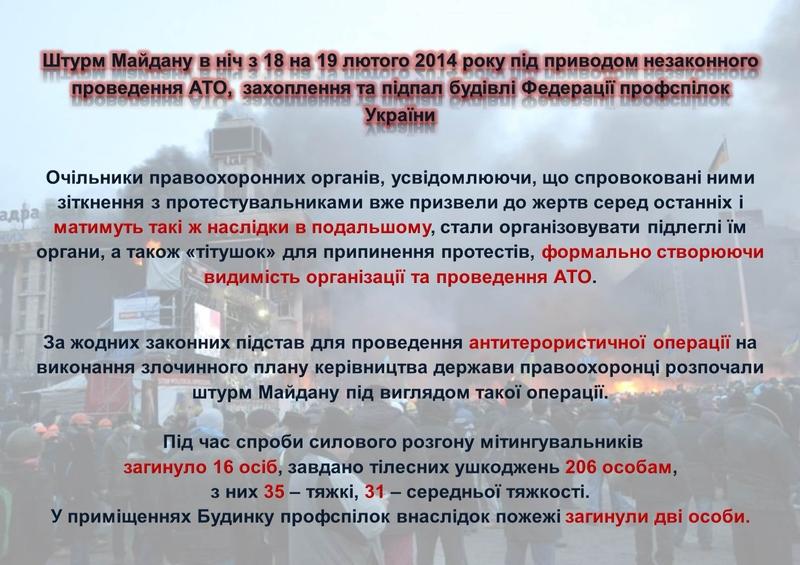 """ГПУ наочно показали, як Янукович """"зачищав"""" Майдан (ІНФОГРАФІКА) - фото 28"""