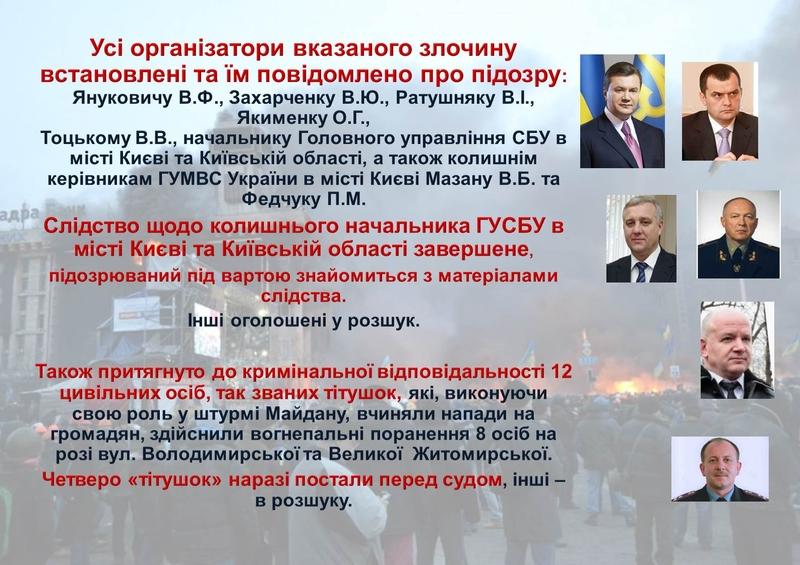 """ГПУ наочно показали, як Янукович """"зачищав"""" Майдан (ІНФОГРАФІКА) - фото 29"""