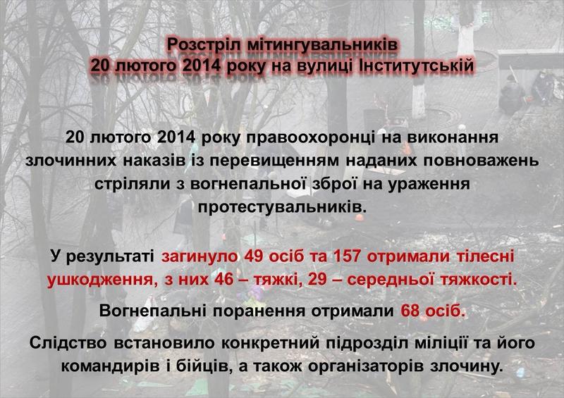 """ГПУ наочно показали, як Янукович """"зачищав"""" Майдан (ІНФОГРАФІКА) - фото 30"""