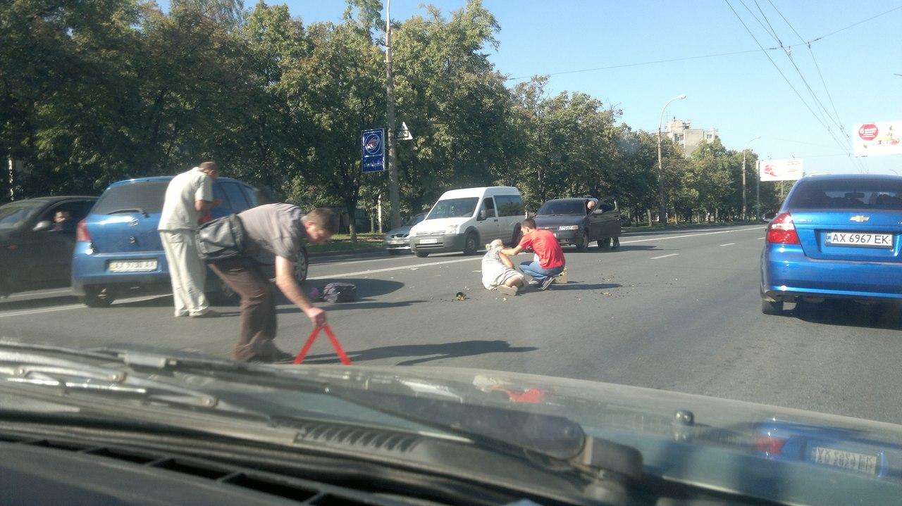 Біля Комунального ринку водій переїхав літню жінку  - фото 1
