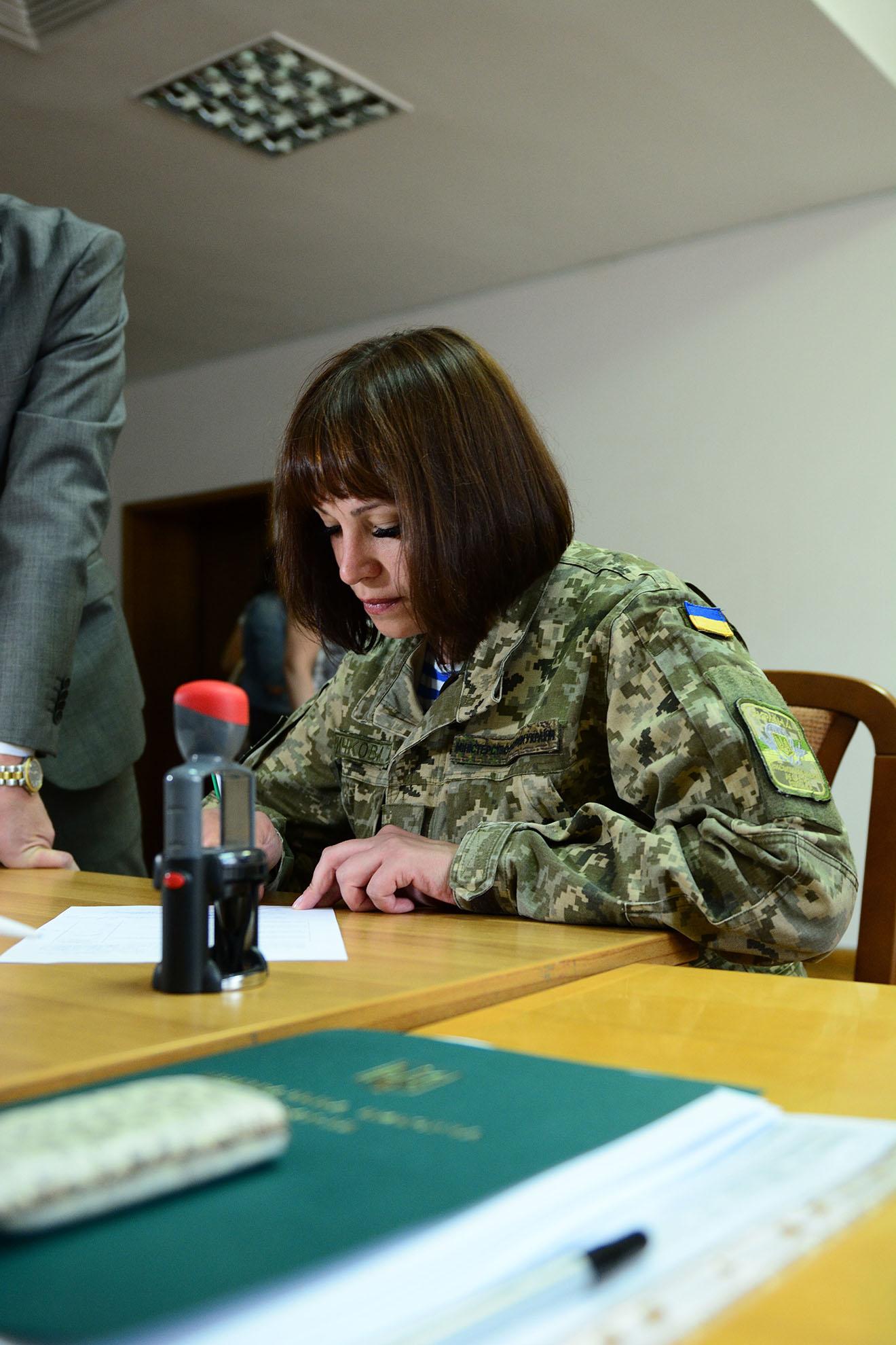 Тетяна Ричкова подала документи на реєстрацію в ЦВК - фото 1