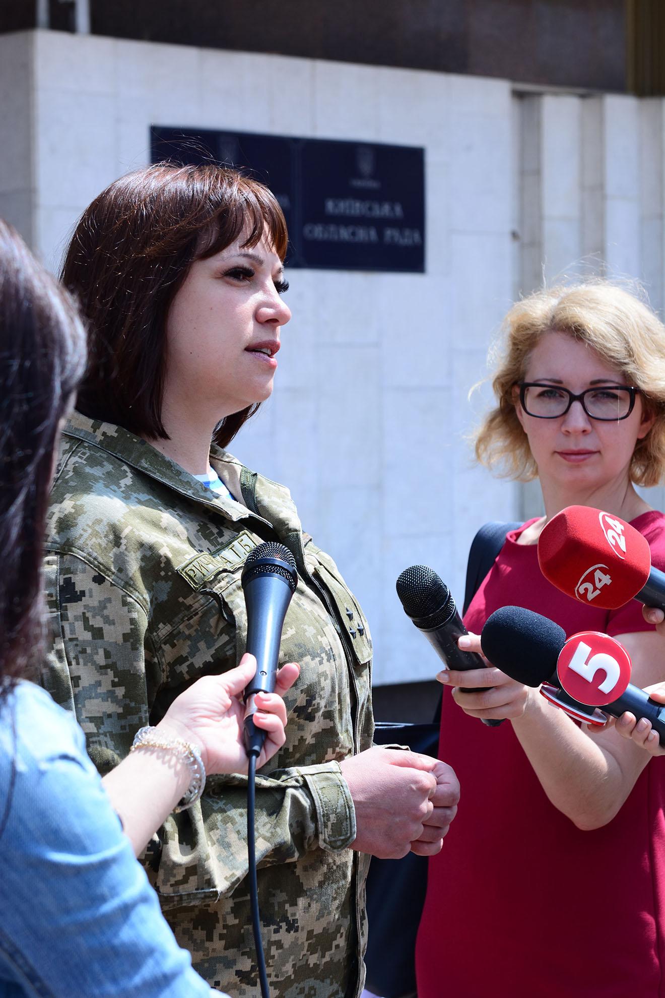 Тетяна Ричкова подала документи на реєстрацію в ЦВК - фото 4