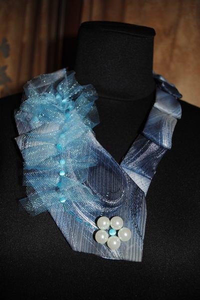 У стилі бохо-шик: одяг та прикраси з краваток  - фото 5
