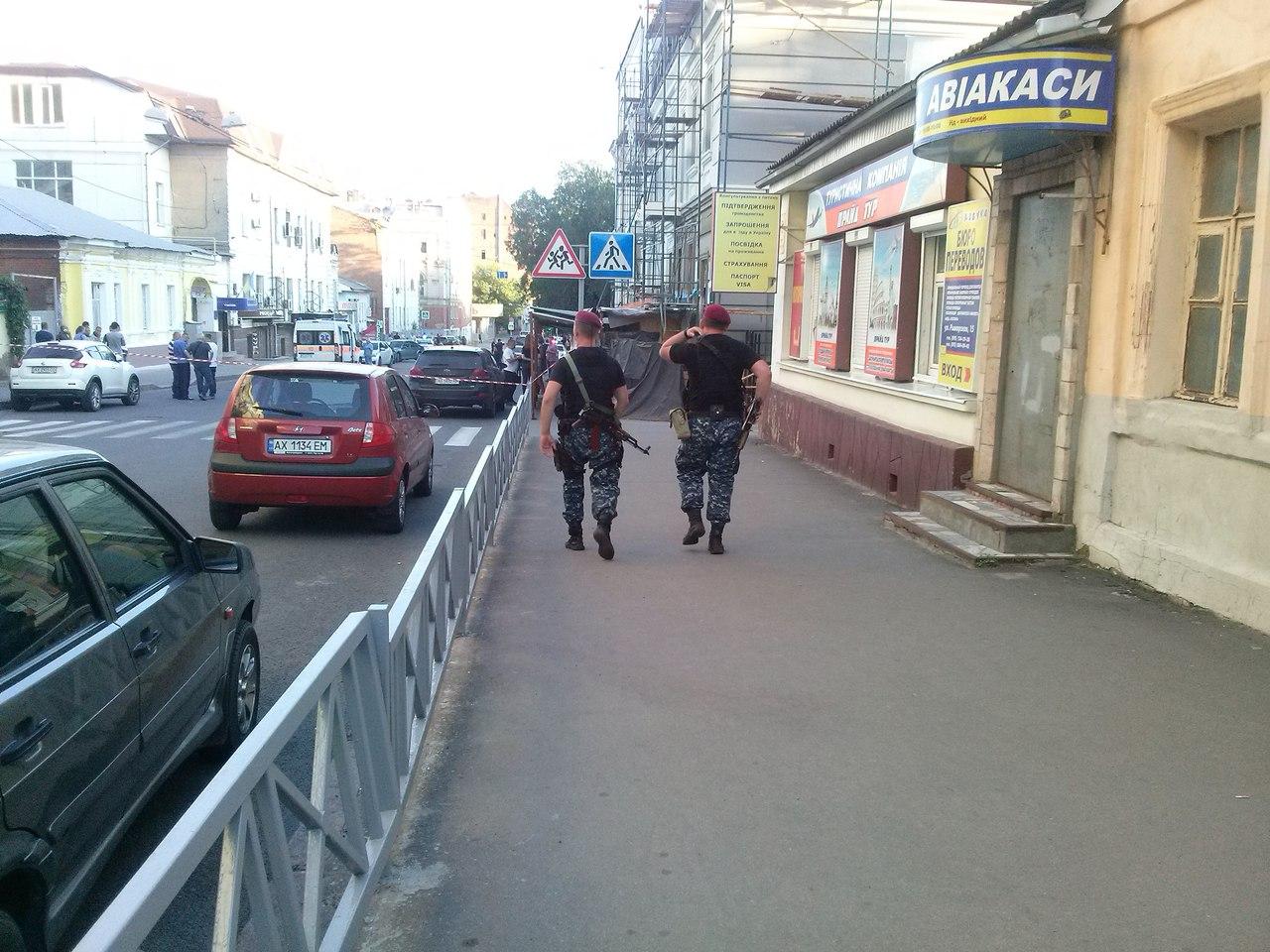 У центрі Харкова сталося вбивство - фото 1