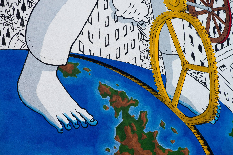 Італійський художник Millo показав справжню любов у Києві - фото 2