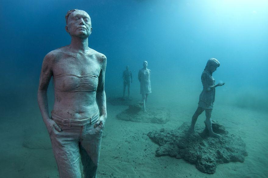 Як виглядає підводний музей в Атлантичному океані  - фото 6