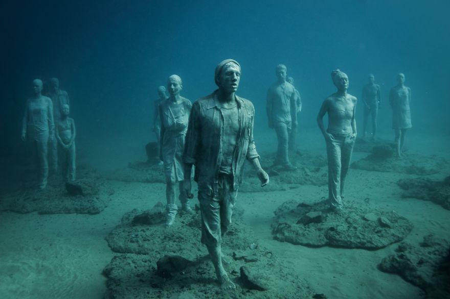 Як виглядає підводний музей в Атлантичному океані  - фото 5