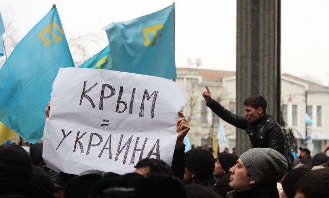 Хроніки окупації Криму: мітинг 26 лютого - фото 3