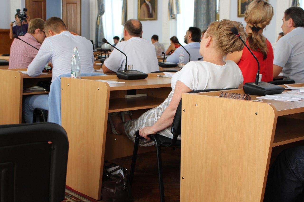 У Миколаєві депутатка-опозиціонерка не встала під час вшануваня пам'яті АТОшника - фото 3