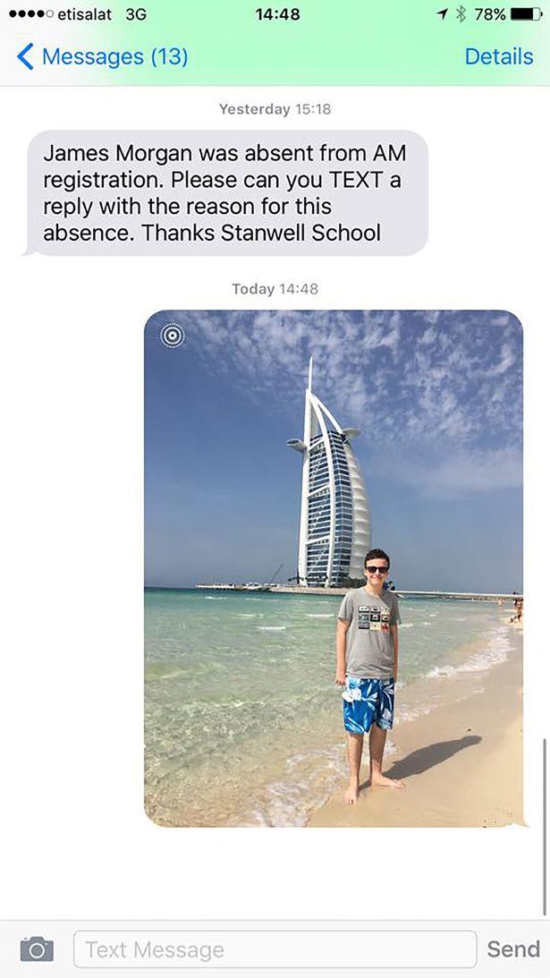 Татусь року: батько відповів дирекції школи сина світлиною з відпочинку  - фото 1