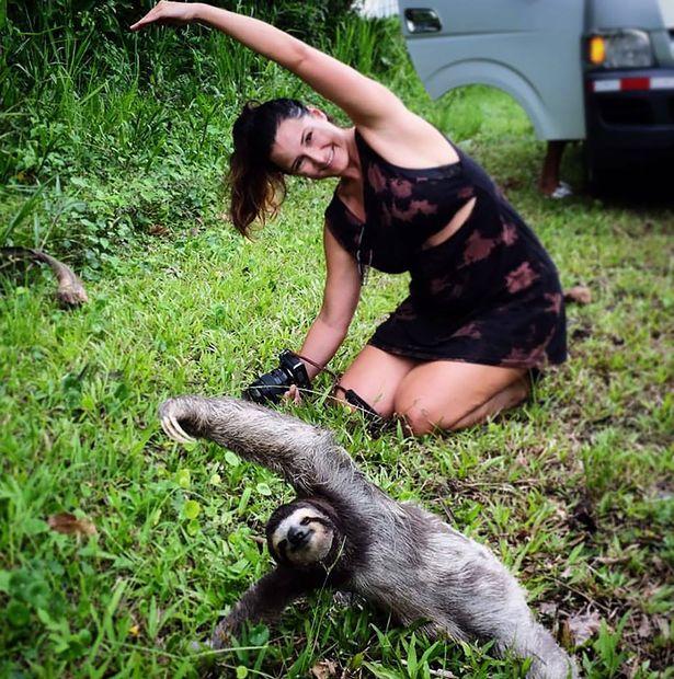 Як лінивець працює інструктором з йоги - фото 2