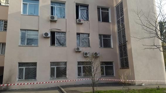 Поліція показала спалений кабінет судді ГРУшників  - фото 3