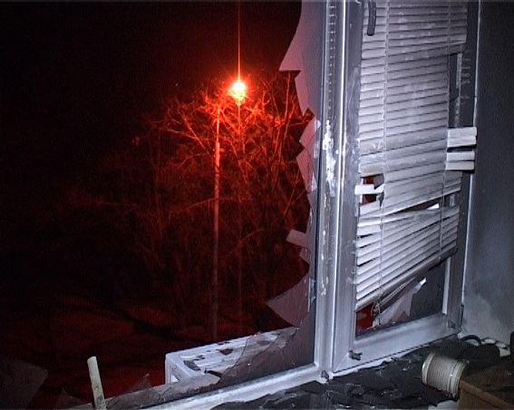 Поліція показала спалений кабінет судді ГРУшників  - фото 1