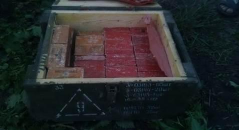 СБУ виявила на Донбасі схрон з майже 50 кг тротилу - фото 1