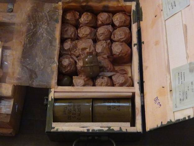 На Запоріжжі поліція вилучила арсенал зброї та боєприпасів - фото 2