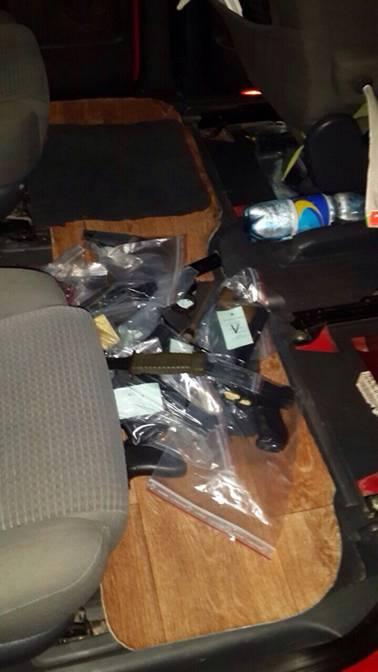 """На кордоні з Польщею затримали контрабандиста зброї з трьома десятками """"стволів"""" - фото 1"""