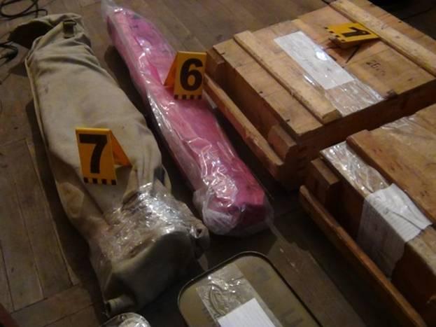 На Запоріжжі поліція вилучила арсенал зброї та боєприпасів - фото 1