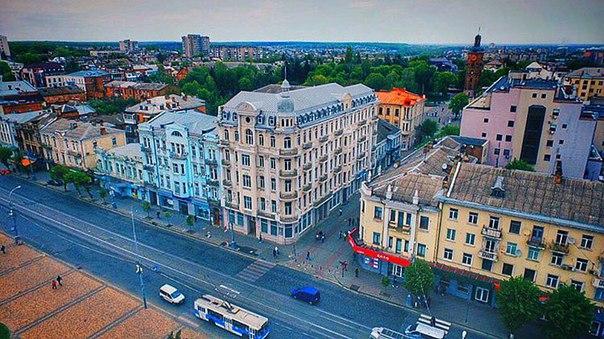 Вінничанам показали, як виглядає місто з висоти пташиного польоту - фото 2