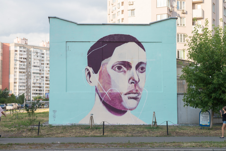 Бразильський стріт-артист створив два мурали в Україні  - фото 2