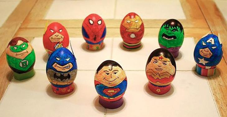 35 креативних ідей для Великодніх яєць - фото 1