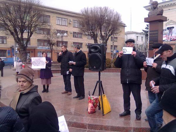 Вінничани зібралися на мітинг заради Савченко - фото 2