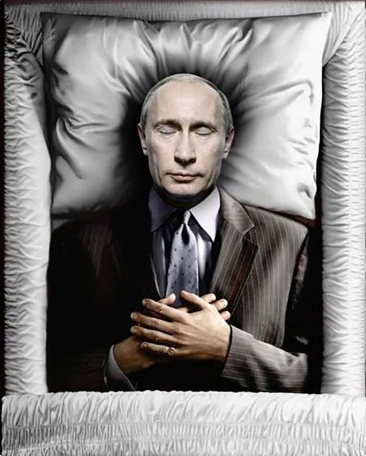 """Путіна взялися """"ховати"""" у фотожабах - фото 4"""