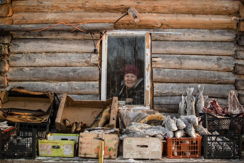 Як виглядає базар на 40-градусному морозі у Сибіру  - фото 4