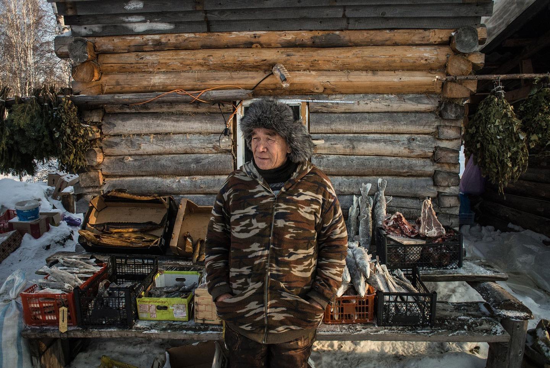 Як виглядає базар на 40-градусному морозі у Сибіру  - фото 2
