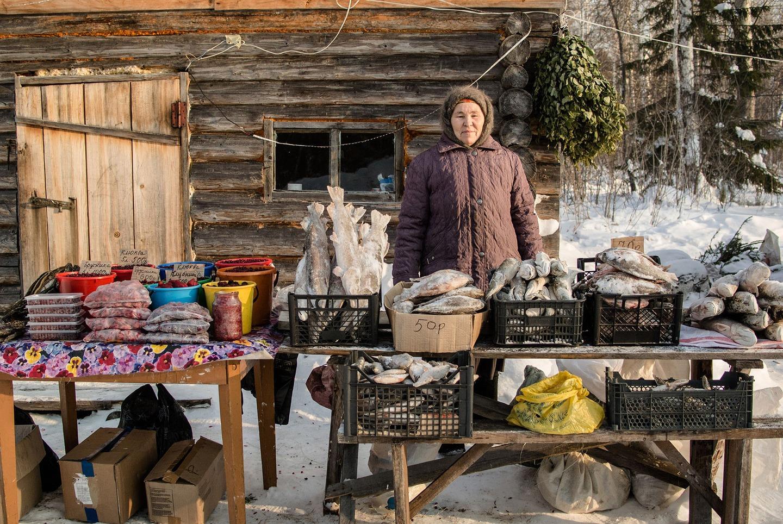 Як виглядає базар на 40-градусному морозі у Сибіру  - фото 1