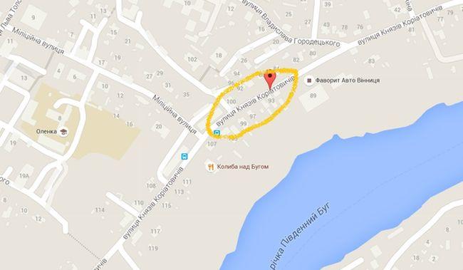 """""""Гугл"""" почав перейменовувати вінницькі вулиці  - фото 1"""