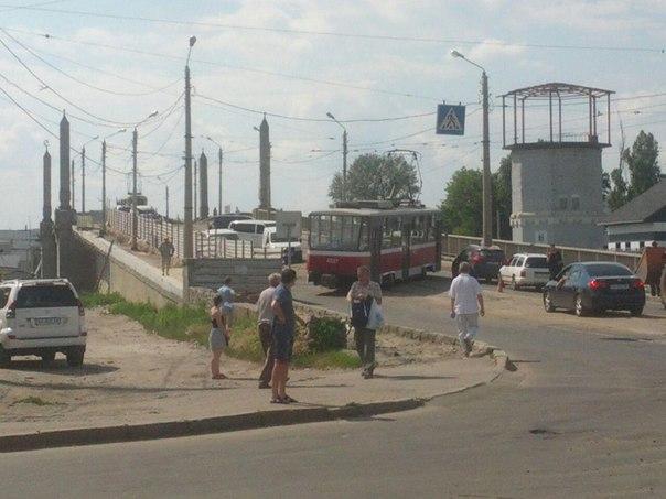У Харкові не втримався на рейках черговий трамвай - фото 1
