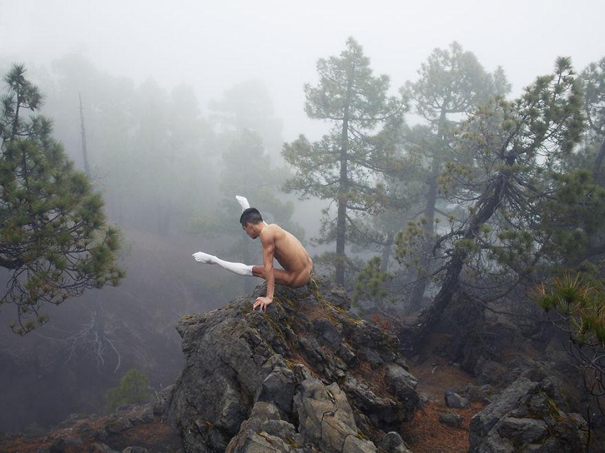 Як шведський фотограф знімає голих танцюристів на тлі природи  - фото 2