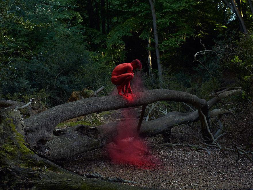 Як шведський фотограф знімає голих танцюристів на тлі природи  - фото 4
