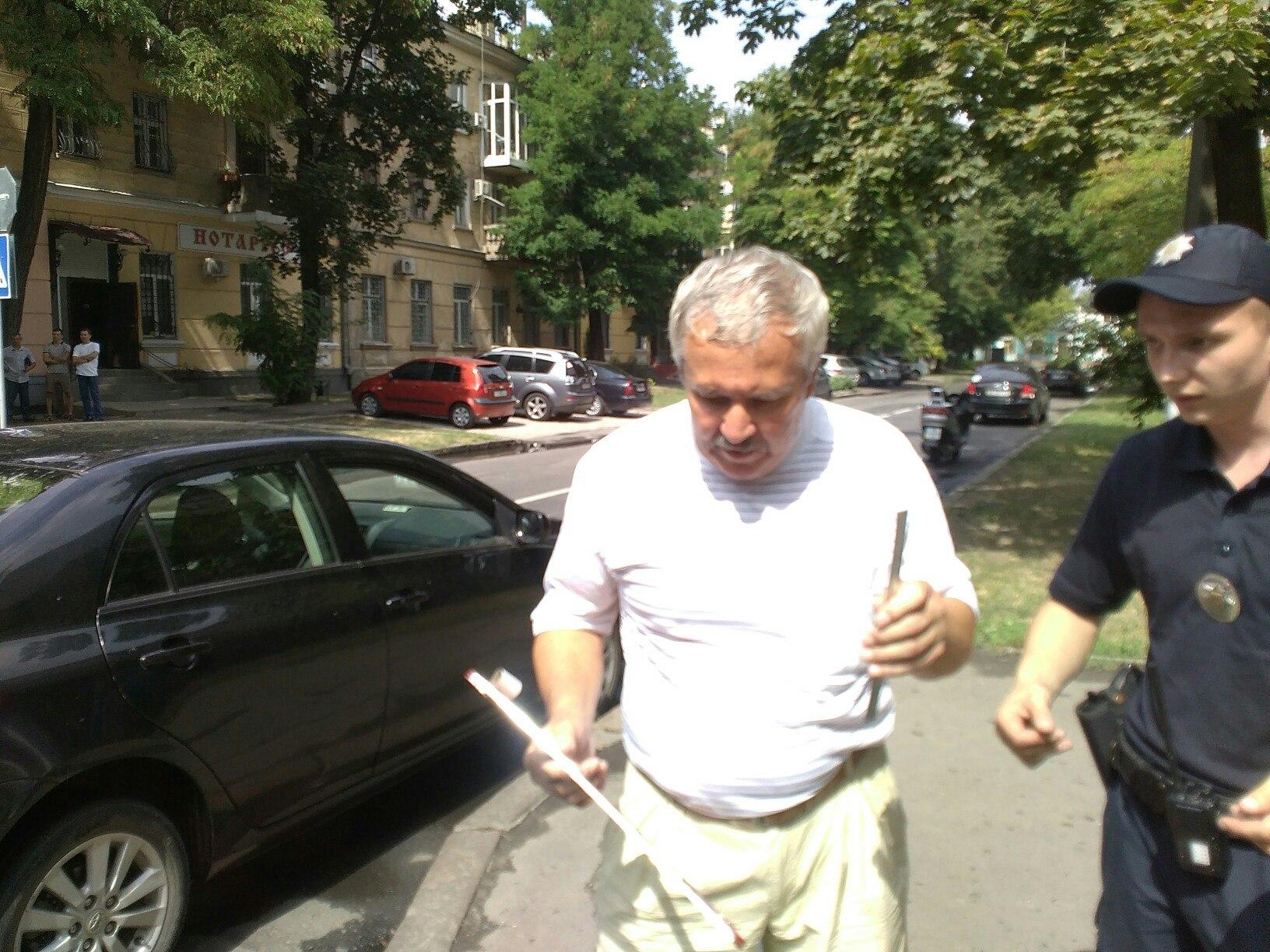В центрі Миколаєві екс-заступник голови ОДА збив мотоцикліста