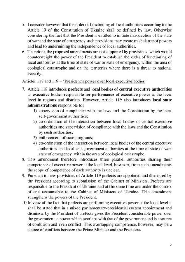 """""""Самопоміч"""" вигадала свою конституцію та відправила її до Венеціанської комісії (ДОКУМЕНТ) - фото 2"""