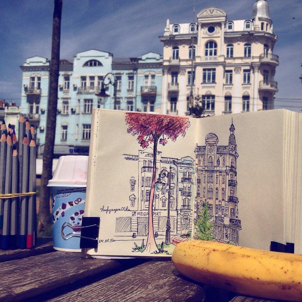 Як вінницькі скетчерки перетворили суботні сніданки у популярний арт-проект - фото 7