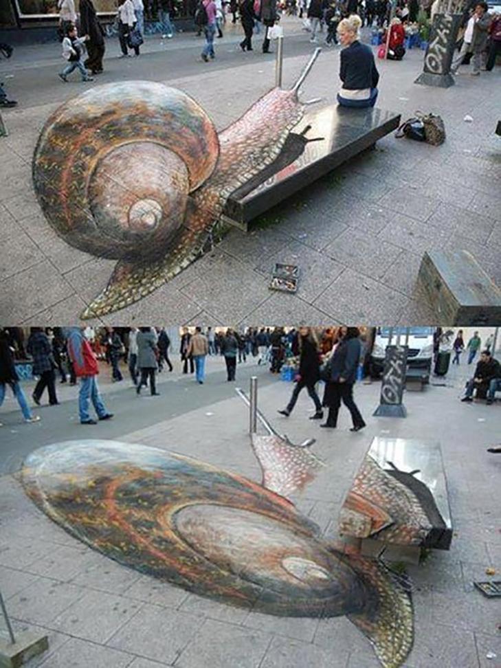 40 неймовірних 3D малюнків на асфальті - фото 26