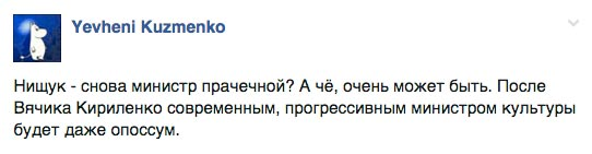 """""""Після Кириленка прогресивним міністром культури може бути навіть опоссум"""" - фото 8"""