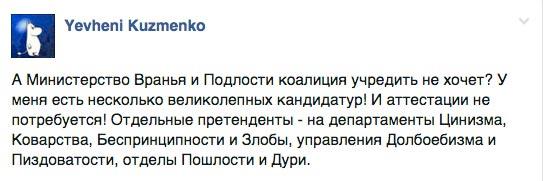 """""""Після Кириленка прогресивним міністром культури може бути навіть опоссум"""" - фото 6"""