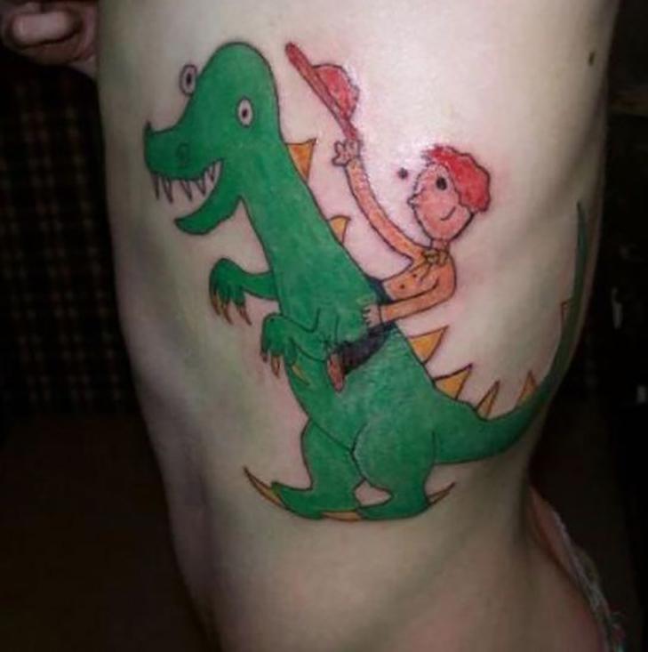 30 курйозних татуювань - фото 24