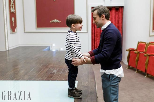 Шепелєв вперше після смерті Фріске знявся із синому у фотосесії - фото 3