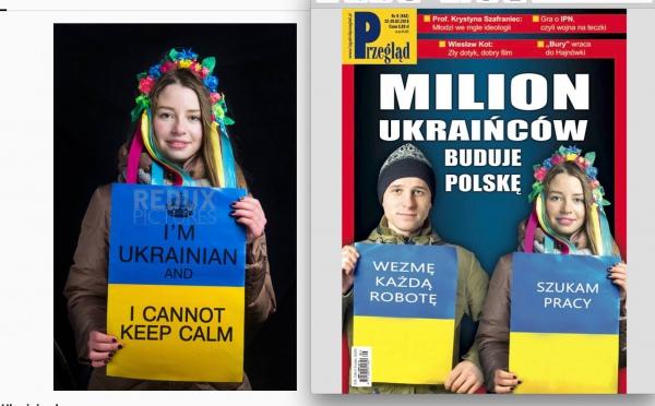 Як активісти Євромайдану стали жебраками: польські ЗМІ осквернили фото українців - фото 1