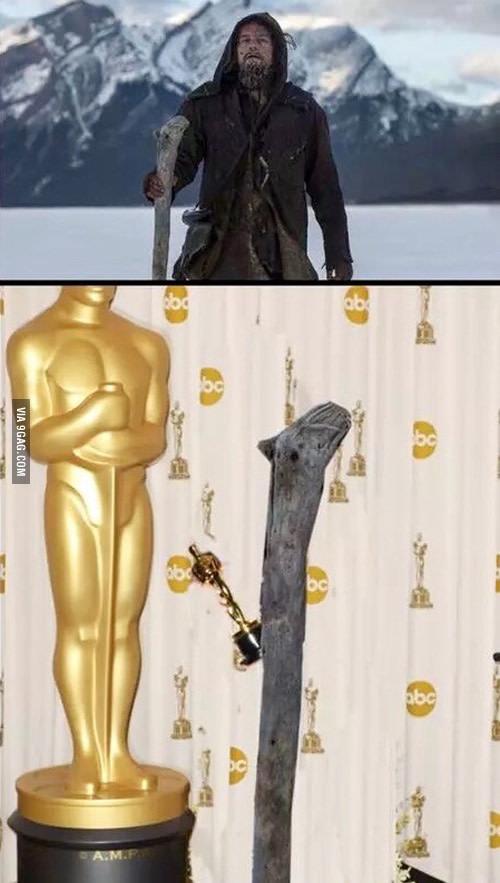 """Ді Капріо знов тролять в інтернеті """"Оскаром"""" - фото 1"""