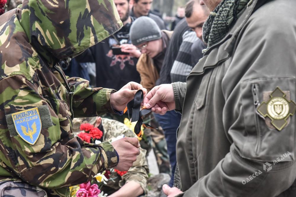 """Одеські патріоти спалити """"колорадські"""" стрічки - фото 2"""