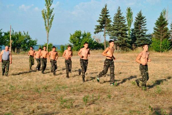 Як під Києвом тренують майбутніх проросійських терористів - фото 10