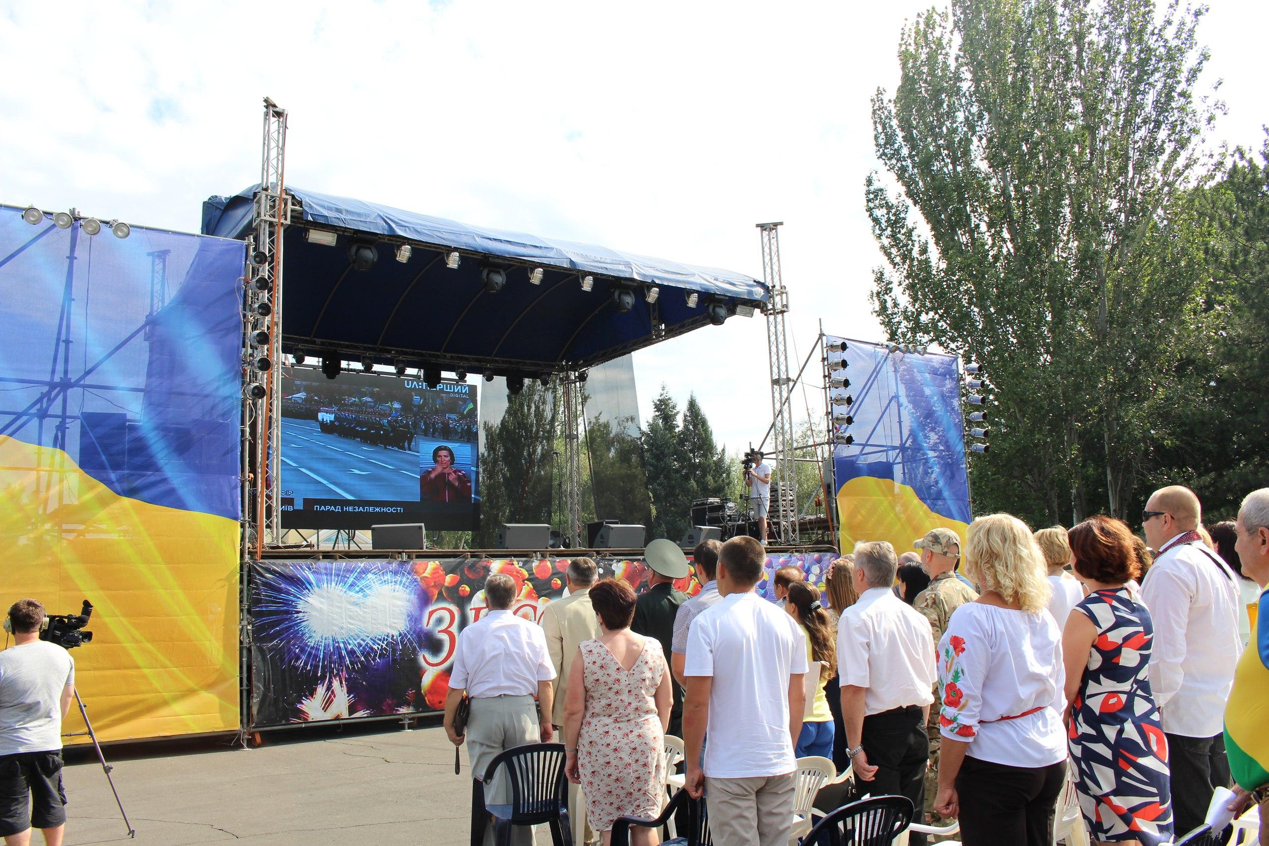 Миколаїв почав святквання Дня Незалежності з військової ходи