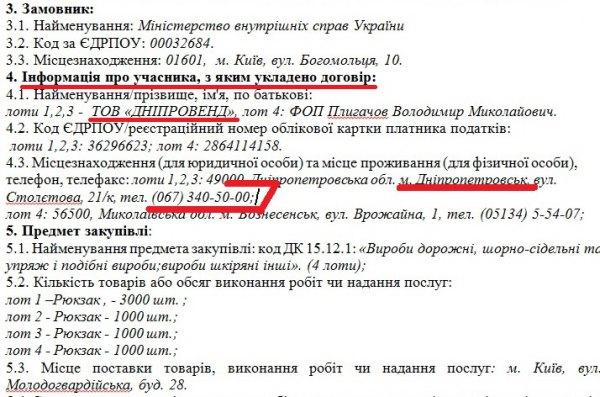 """""""Рюкзачний"""" скандал з Аваковим: Розкрито нові подробиці - фото 1"""
